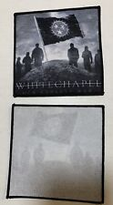 Whitechapel Our Endless War Sew-On Cloth Patch for cd Phil Bozeman Alex Rüdinger