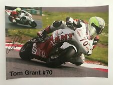 Tom Grant mano firmado Poster BSB.