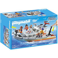 Playmobil 5540 Barco de Rescate Guarda Costa City Action