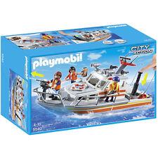 Playmobil 5540 Barco de Rescate Guarda Costa City Action