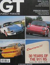 GT Purely Porsche 10/2003 featuring 911 RS, Cayenne, 911 GT3, 924, Strosek 996