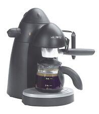 Espresso Maker Steam Cappuccino Coffee Machine 4 Cup Latte Mr Black ECM20