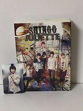 Shinee JULIETT JAPAN LTD EDITION Type A CD +DVD+Photo Card/Minho
