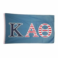 Kappa Alpha Theta USA Letter Flag 3' x 5' - NEW!
