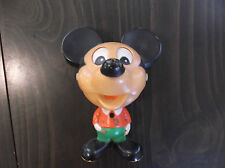 Vintage Mickey Mouse Pull String Talking Toy Disney 1978