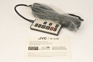 JVC R-50E Cassette Deck Remote Control - Unused