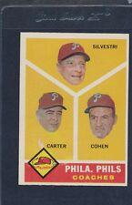 1960 Topps #466 Philadelphia Phillies Coaches EX 60T466-12616-1