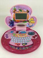 Vtech Disney Princess Cinderella Magic Wand Learning Laptop Royal Lessons Pink