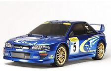 58631 Tamiya Subaru Impreza Monte Carlo TT-02 Chassis Kit w/BALLRACE SET NO ESC