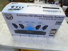 New ListingNight Owl Extreme Hd Wired Security System 8 Channel 5Mp Hd Dvr 1Tb & 4 Cameras