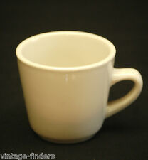 Ultima China Restaurant Ware Off White Diner Coffee Shop Heavy Mug Cup Vintage