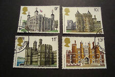 GB 1978 Commemorative Stamps~Architecture~Very Fine Used Set~UK Seller