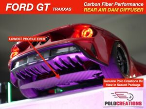AIR DAM DIFFUSER Carbon Fiber Traxxas FORD GT 4 Tec 2.0 Spoilers Down Force