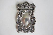 Antique Art Nouveau Sterling Silver Match Box