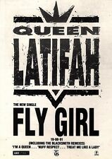 24/8/91 Pgn16 Advert: queen Latifah The New Single fly Girl On Island 7x5