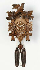 """NEW Genuine Black Forest 8-Day Cuckoo Clock 13"""" Eight Day  811-13 -  GREAT GIFT!"""