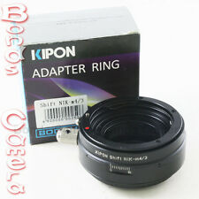 Kipon Shift Nikon F mount Lens to Micro 4/3 Adapter Panasonic GF6 Olympus E-PL6