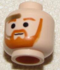 LEGO NEW MINIFIGURE STAR WARS FLESH MINIFIG HEAD OBI WAN KENOBI