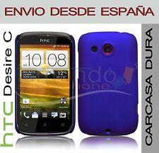 CARCASA FUNDA DURA AZUL HTC DESIRE C EN ESPAÑA