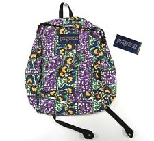 NEW WITH TAGS JanSport Superbreak Multi-Colored Backpack Made in Vietnam