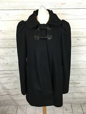 Women's French Connection Coat - UK8 - Black - Wool & Cashmere - Great Condition