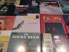 BLUES MASTERS JAMES WATERS REED B.B. KING  HOPKINS HOOKER WOLF 16 LP'S +TEN 45'S