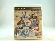 Madden NFL 13 (Sony PlayStation 3, 2012) New !