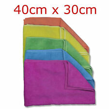 MICROFIBRE CLEANING CLOTH GLASS POLISH HOME DUSTER DISH DRYING SOFT THICK TOWEL