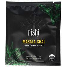 Rishi Masala Chai Organic Black Tea Blend - 50 Sachets / Teabags