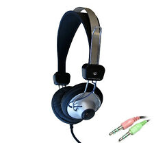 Little Sun Reliable Student School Headsets Headphone with in-line Microphone