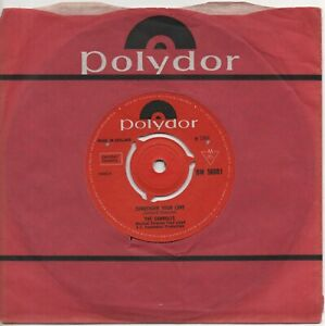 THE CARROLLS surrender your love*the folk i love 1966 UK NORTHERN SOUL signed 45