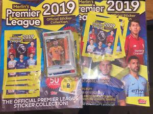 Merlins Premier League 2018/19-4 X Multipacks + Sealed Album