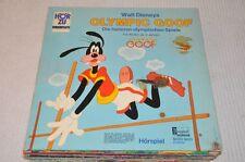 Walt Disney - Olympic Goof (Goofy) - Hörspiel Kinder - Vinyl Schallplatte LP