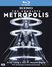 Complete Metropolis [Limited Edition] (2010, Blu-ray NEUF) BLU-RAY/WS