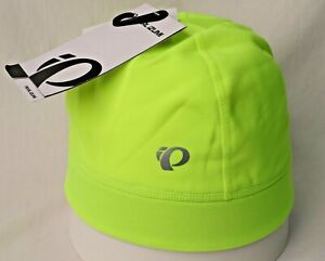 Pearl Izumi Unisex Thermal Run Cycling Cap,Screaming Yellow, One Size, NEW