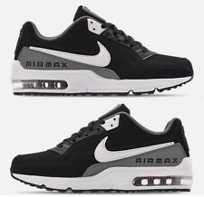 the latest 16a37 b32f3 NIKE AIR MAX LTD 3 MEN s BLACK - WHITE - COOL GREY LEATHER RUNNING NEW SIZE