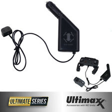 ULTIMAXX DJI Spark Car Charger with USB Connector for DJI Spark Batteries