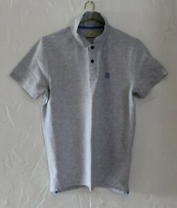 Polo SELECTED HOMME . Taille M . TBE comme neuf  . Gris