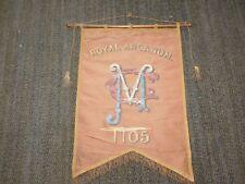 "VINTAGE 26"" X 18""  VMC ROYAL ARCANUM 1105 BANNER FLAG"