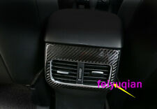 Real carbon fiber Inner Rear Air Vent Outlet cover For Mazda CX-5 CX5 2017-2019