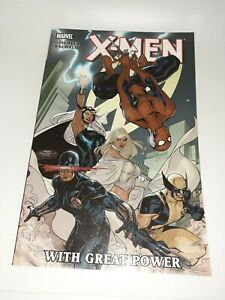 Marvel X-Men With Great Power TPB New Unread 9.4 FREE SHIPPING