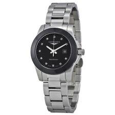 Longines Silver Case Round Wristwatches