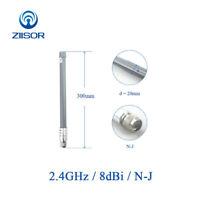 2.4GHz Omni Wifi Antenna Fiberglass 2400MHz Antena N Male Outdoor Signal Booster