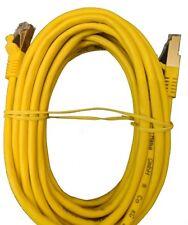 Marken Lankabel günstig gelb 5m Meter vergoldet Netzwerkkabel Patchkabel HAMA 🔥