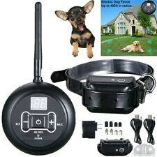 Waterproof Shock Collar Electric Dog Pet Fence System for 1 Dog Wireless