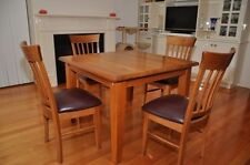 Oak Fixed Dining Furniture Sets
