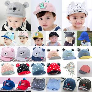 Kinder Baby Mädchen Jungen Herbst Hüte Baseball Mützen Basecap Kappe Sonnenhut.