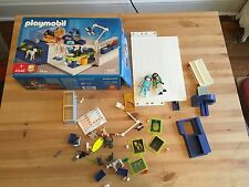 Playmobil 4346 Parts & Pieces Lot Veterinarian Office Doctor Animal Dog Cat