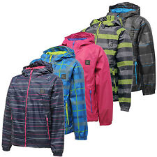 Dare2b Jubilant Kids Waterproof Jacket Breathable Lightweight Packaway