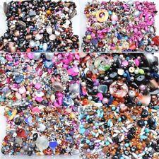 Bastelpaket 1Kg Perlen viele vers. Designs Bastelmix Perlen-/ Materialmix